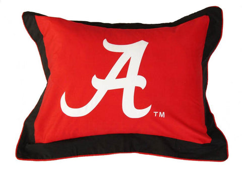 Alabama Printed Pillow Sham - ALASH by College Covers - Peazz.com
