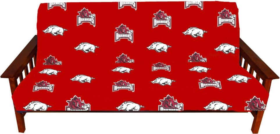 Arkansas Futon Cover - Full Size fits 8 and 10 inch mats - ARKFC by College Covers