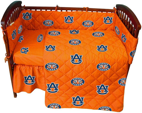 Auburn 5 piece Baby Crib Set  - AUBCS by College Covers - Peazz.com