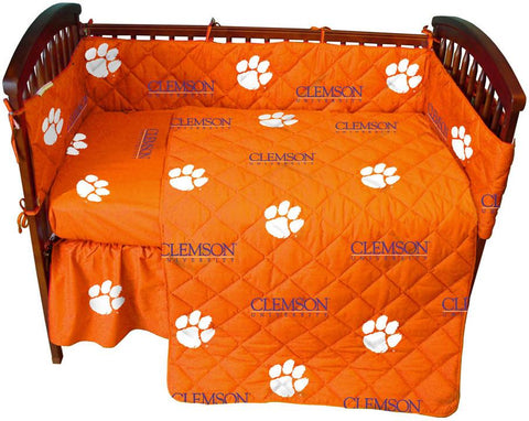 Clemson 5 piece Baby Crib Set  - CLECS by College Covers - Peazz.com