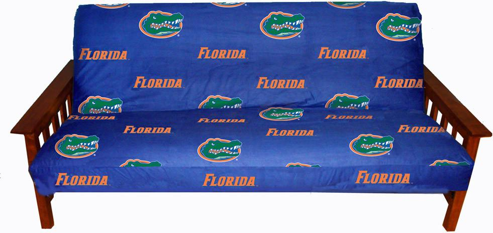 Florida Futon Cover - Full Size fits 8 and 10 inch mats - FLOFC by College Covers