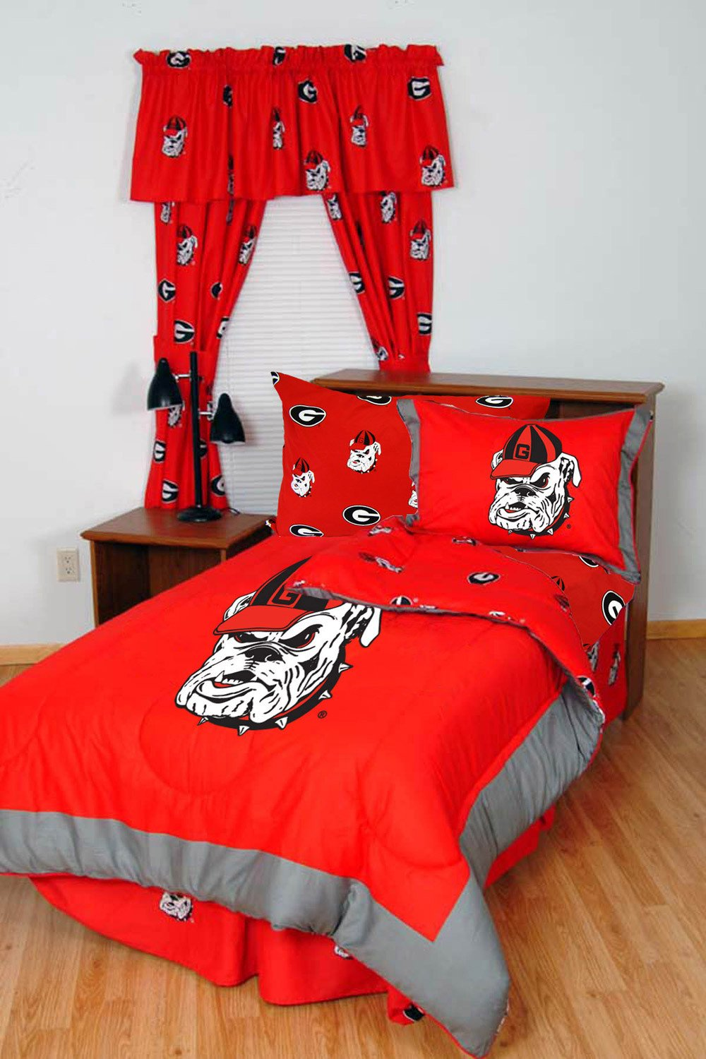 Georgia | College | Sheet | Cover | Color | King | Team | Bed | Bag