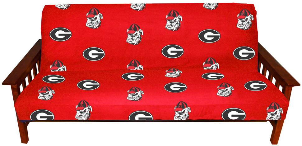 Georgia Futon Cover - Full Size fits 8 and 10 inch mats - GEOFC by College Covers