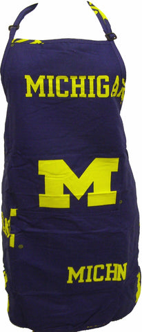 "Michigan Apron 26""X35"" with 9"" pocket - MICAPR by College Covers - Peazz.com"