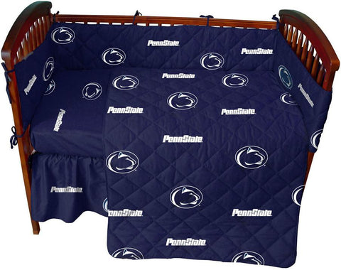 Penn State 5 piece Baby Crib Set  - PSUCS by College Covers - Peazz.com