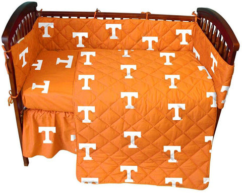 Tennessee 5 piece Baby Crib Set  - TENCS by College Covers - Peazz.com