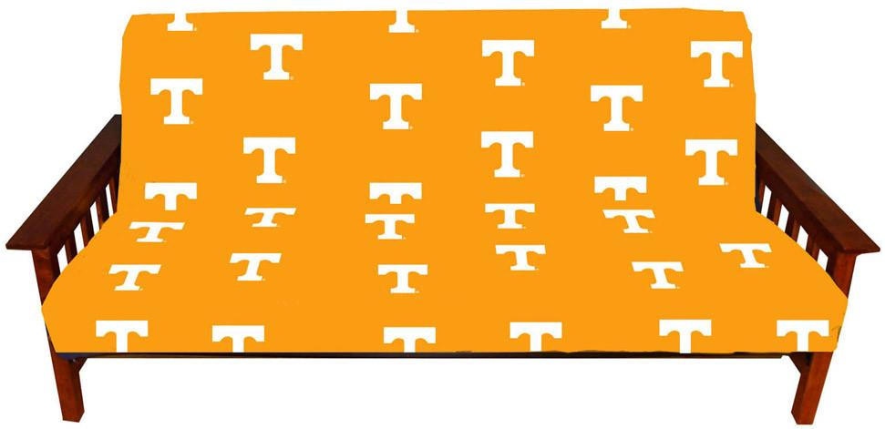 Tennessee Futon Cover - Full Size fits 8 and 10 inch mats - TENFC by College Covers