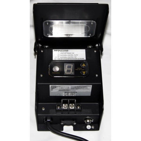 Alpine PL106T 200 Watt Transformer w/ Timer and Photo Cell - Peazz.com