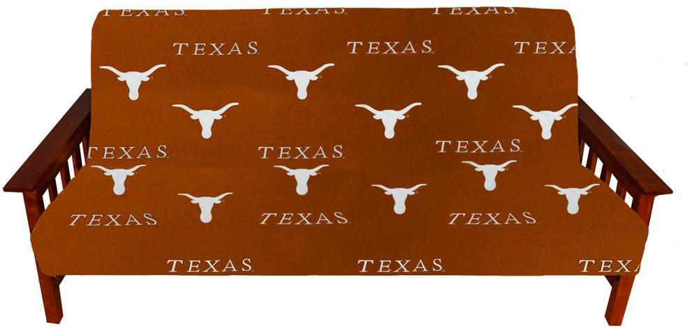 Texas Futon Cover - Full Size fits 8 and 10 inch mats - TEXFC by College Covers