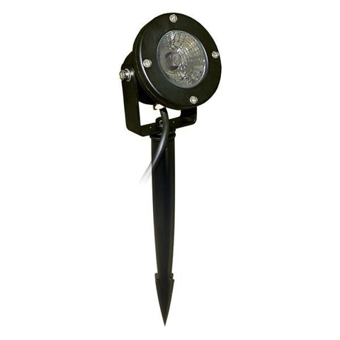 Alpine PLP150T 50W Pond Light Clear Lense 33ft Cable w/ Transformer & Stake - Peazz.com