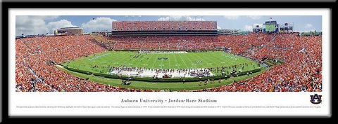 Auburn University Framed Stadium Print - Peazz.com