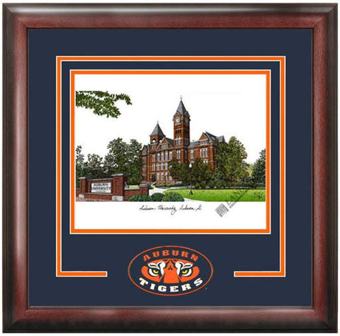 Auburn University Spirit Litho Frame - Peazz.com