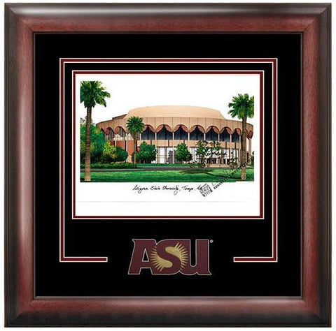 Arizona State University Spirit Litho Frame - Peazz.com