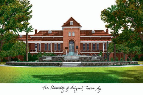 University of ArizonaCampus Images Lithograph Print - Peazz.com