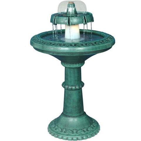 Alpine TEC102 Fountain with Light - Peazz.com