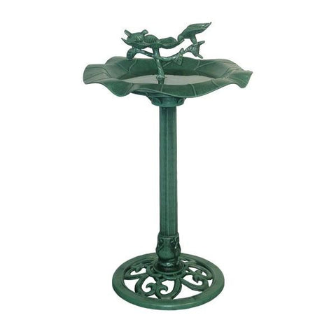 Alpine TEC108 Lotus Bird Bath - Peazz.com