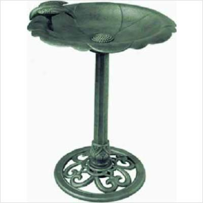 Alpine TEC114 Bird Bath- Bird on Side - Peazz.com