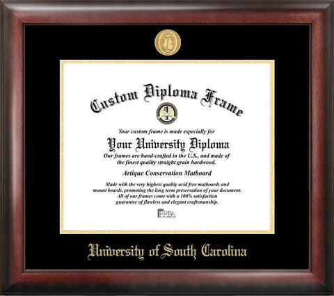 University of Southern California Gold Embossed Diploma Frame - Peazz.com