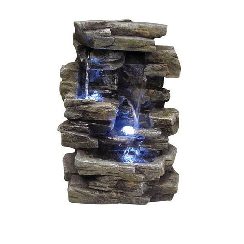 Alpine WIN220 Tabletop Waterfall Fountain - Peazz.com
