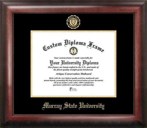 Murray State University Gold Embossed Diploma Frame - Peazz.com