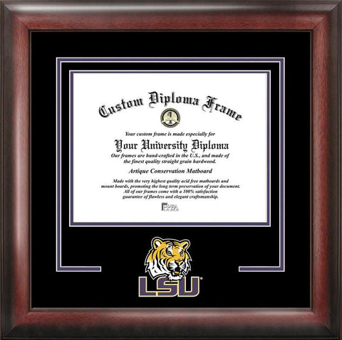 Louisiana State University Spirit Diploma Frame - Peazz.com