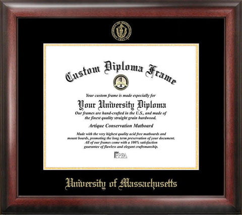 University of Massachusetts Gold Embossed Diploma Frame - Peazz.com