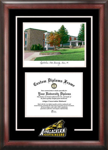 Appalachian State University Spirit Graduate Frame with Campus Image - Peazz.com