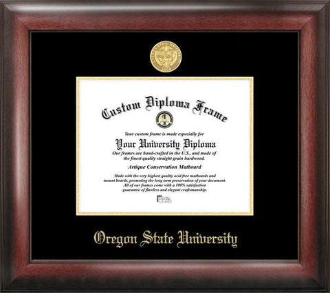 Oregon State University Gold Embossed Diploma Frame - Peazz.com