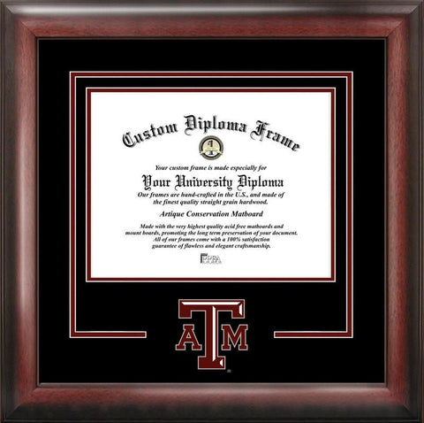Texas A&M University Spirit Diploma Frame - Peazz.com