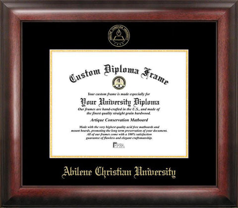 Abilene Christian University Gold Embossed Diploma Frame - Peazz.com