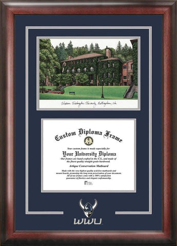 Western Washington UniversitySpirit Graduate Frame with Campus Image - Peazz.com