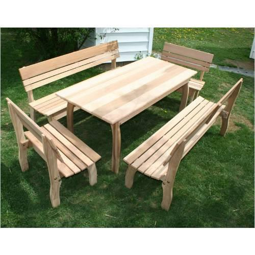 Creekvine Design Cedar Chickadee Dining Set L