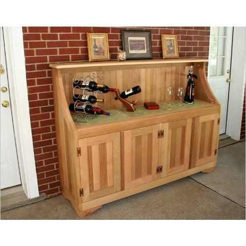 Creekvine Design Highland Lake Hutch Cedar