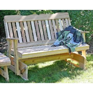 Creekvine Design Countryside Rocking Glider Cedar