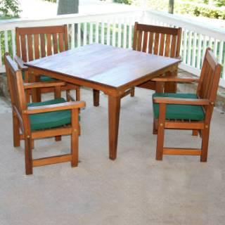 Creekvine Design Get Together Dining Set Cedar