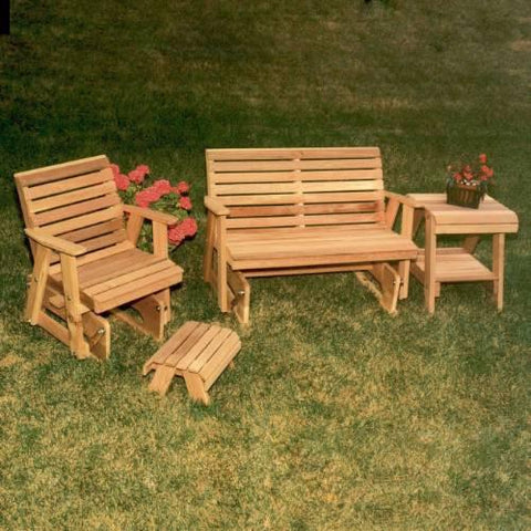 Creekvine Design WRF3200COLCVD Cedar Classic Rocking Glider Furniture Collection - Peazz.com
