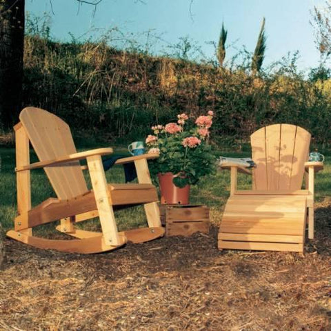 Creekvine Design WRF5100SETCVD Cedar Adirondack Collection - Peazz.com