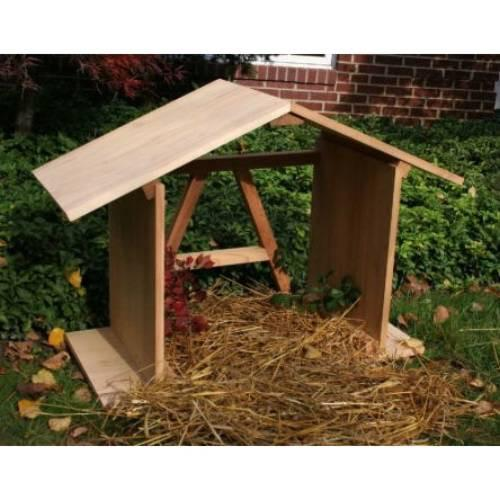 Manger Open Back Cedar 622 Product Photo