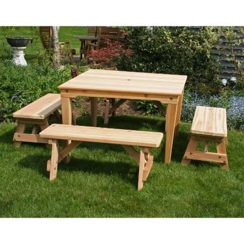 Creekvine Design Social Dining Set Cedar