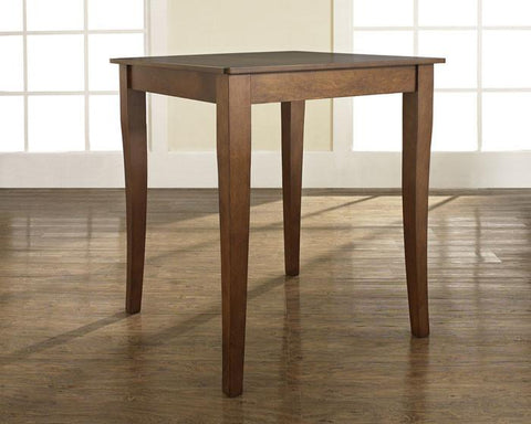 Bayden Hill KD20001CH Cabriole Leg Pub Table in Classic Cherry Finish. - Peazz.com