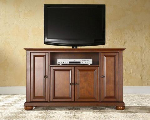 "Bayden Hill KF10002ACH Alexandria 48"" TV Stand in Classic Cherry Finish - Peazz.com"