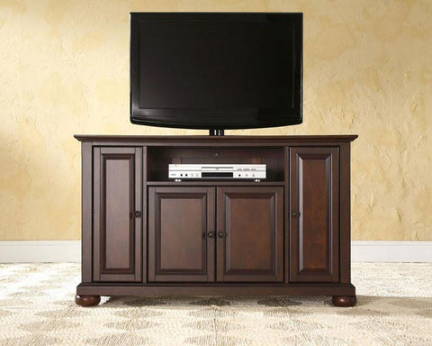"Bayden Hill KF10002AMA Alexandria 48"" TV Stand in Vintage Mahogany Finish - Peazz.com"