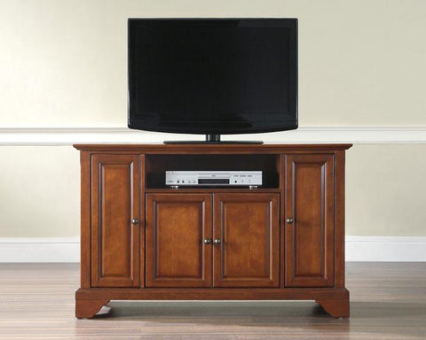 "Bayden Hill KF10002BCH LaFayette 48"" TV Stand in Classic Cherry Finish - Peazz.com"