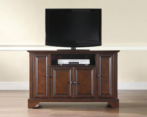 "Bayden Hill KF10002BMA LaFayette 48"" TV Stand in Vintage Mahogany Finish - Peazz.com"