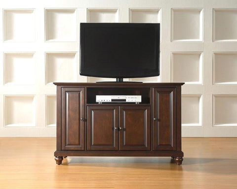 "Bayden Hill KF10002DMA Cambridge 48"" TV Stand in Vintage Mahogany Finish - Peazz.com"