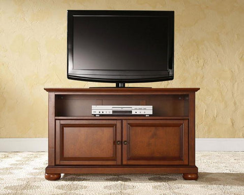 "Bayden Hill KF10003ACH Alexandria 42"" TV Stand in Classic Cherry Finish - Peazz.com"