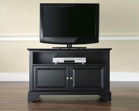 "Bayden Hill KF10003BBK LaFayette 42"" TV Stand in Black Finish - Peazz.com"