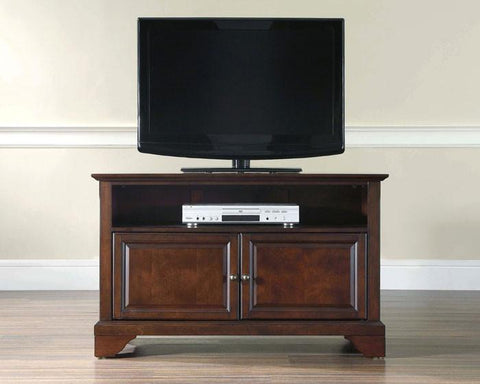 "Bayden Hill KF10003BMA LaFayette 42"" TV Stand in Vintage Mahogany Finish - Peazz.com"