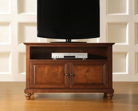 "Bayden Hill KF10003DCH Cambridge 42"" TV Stand in Classic Cherry Finish - Peazz.com"