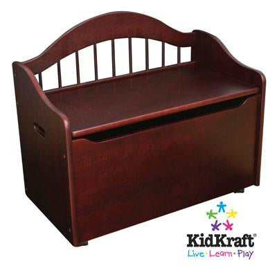KidKraft Limited Edition Toy Box - Cherry 14131 - Peazz.com